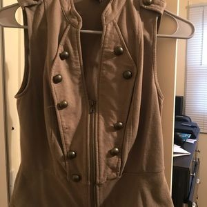 Wet Seal military vest size small